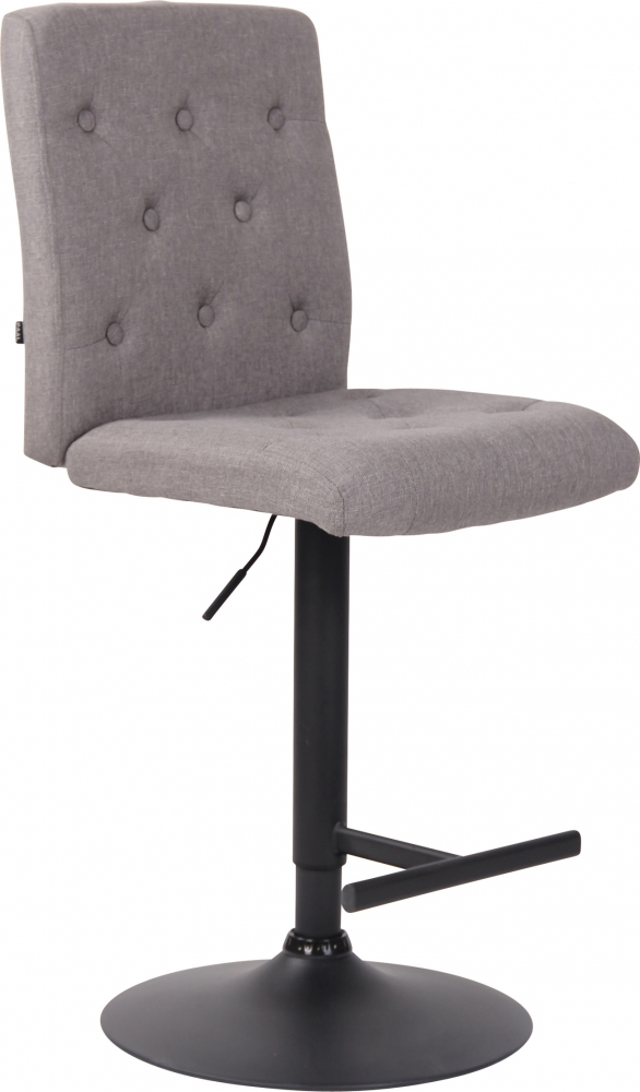 Barová židle Idario, světle šedá