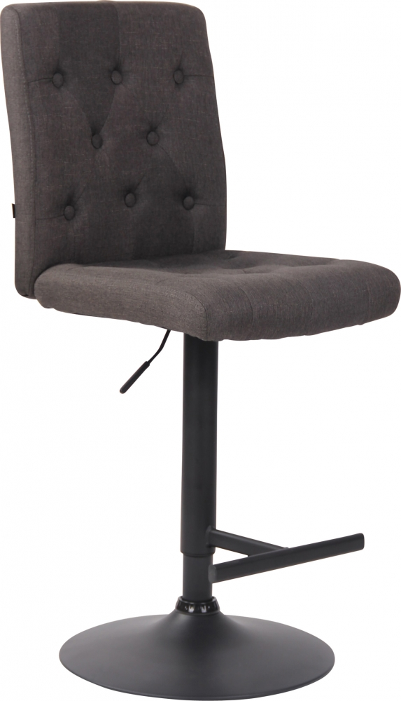 Barová židle Idario, tmavě šedá
