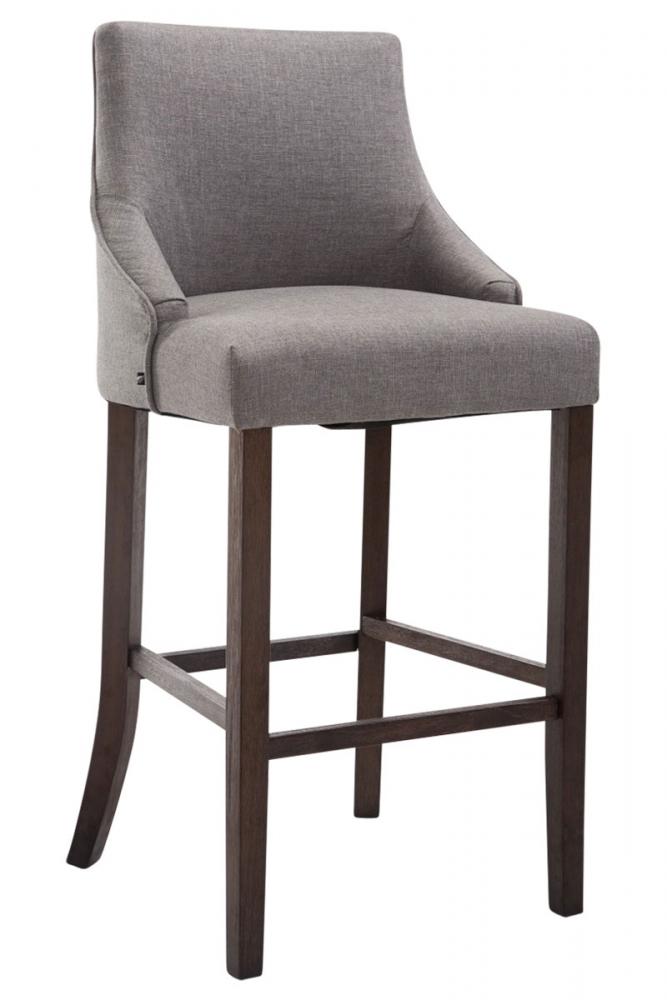 Barová židle Ina, šedá / černá