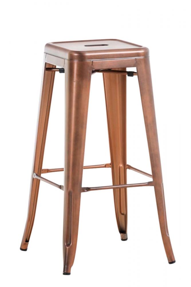 Barová židle Josh I., měděná