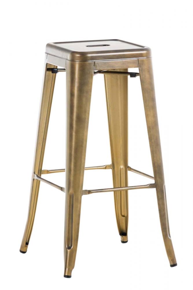 Barová židle Josh I., zlatá