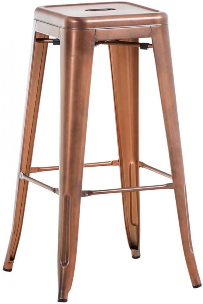 Barová židle Josh II., měděná
