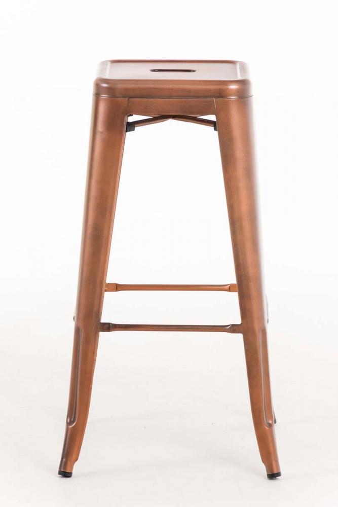 Barová židle Josh (SET 2 ks), měděná