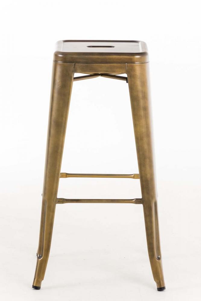 Barová židle Josh (SET 2 ks), zlatá