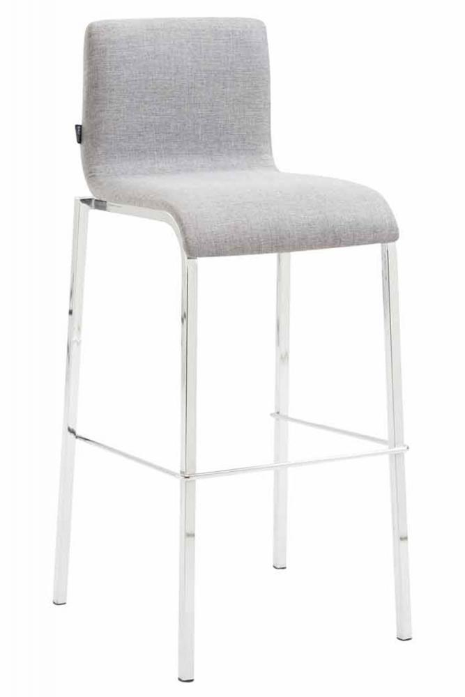 Barová židle Kado, světle šedá