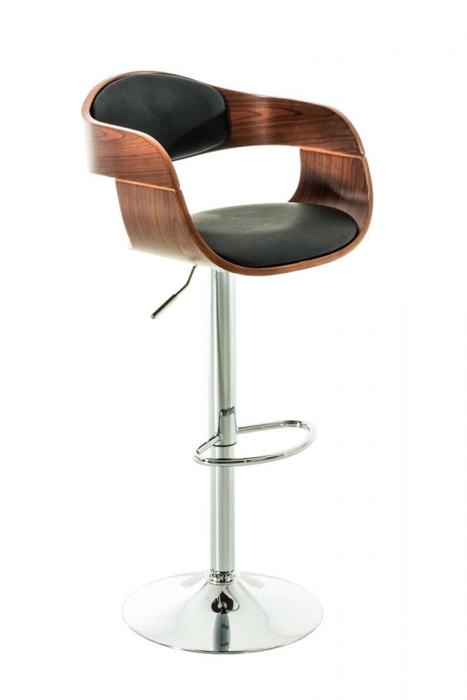 Barová židle King, černá