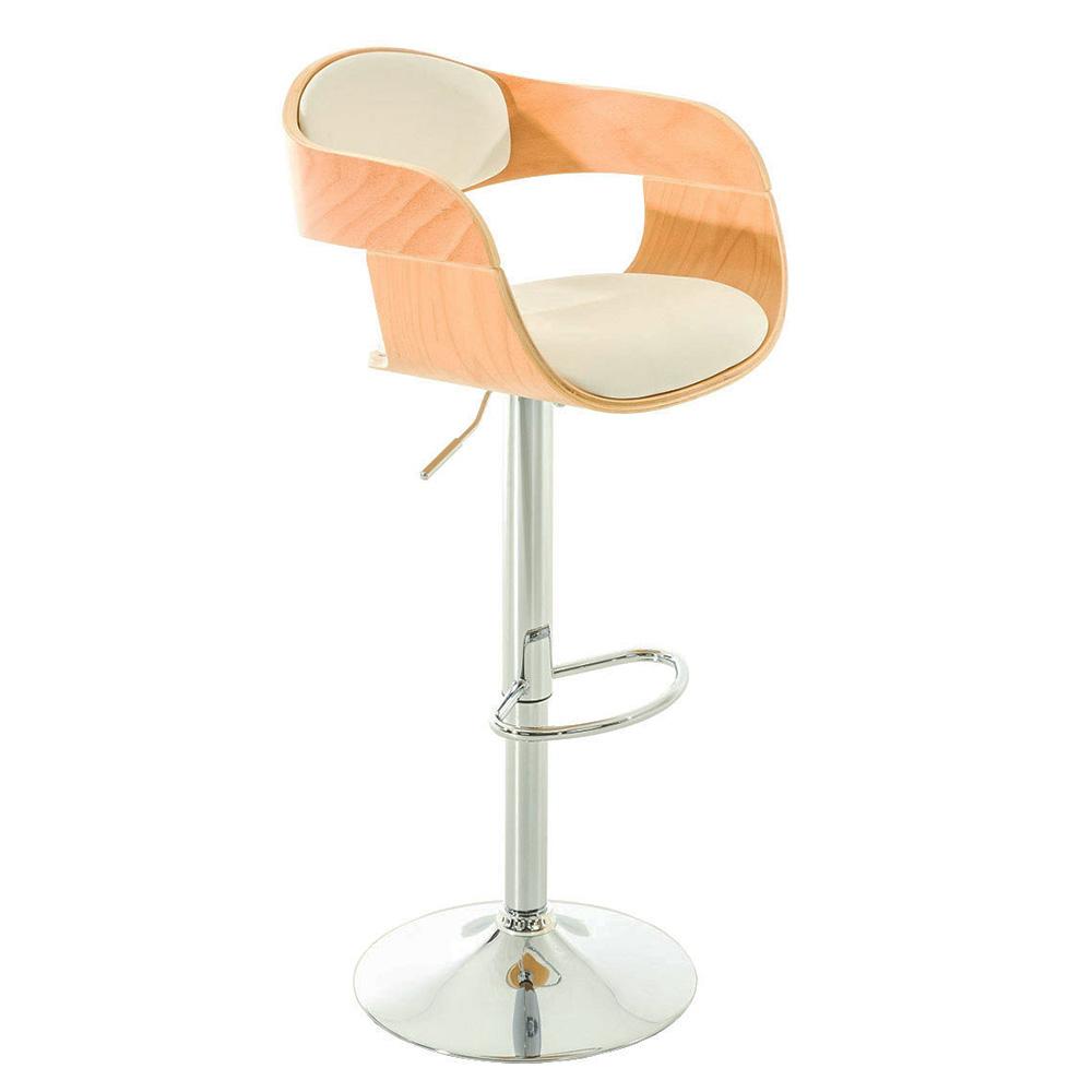 Barová židle Kingdom, bílá