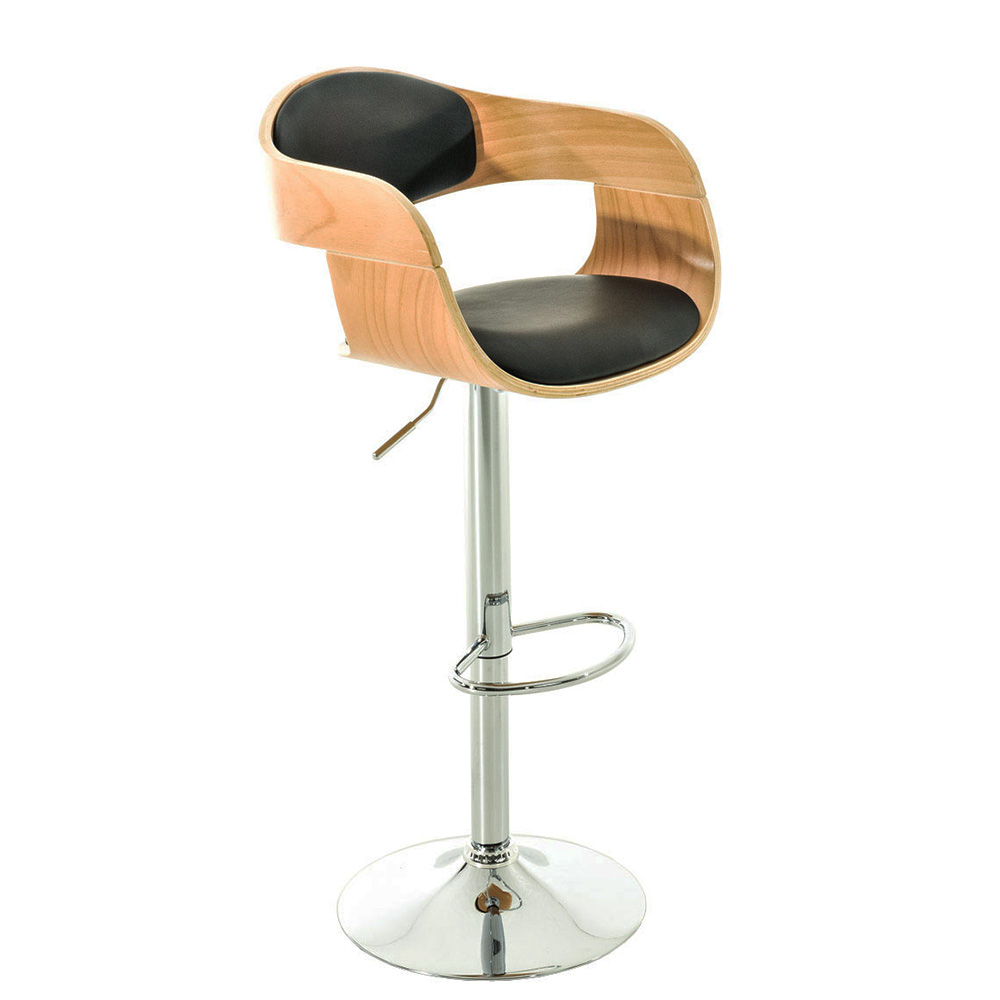 Barová židle Kingdom, černá