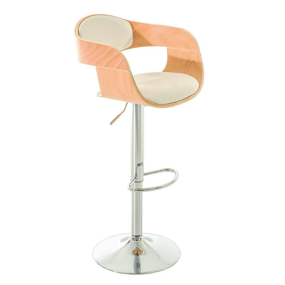 Barová židle Kingdom, krémová