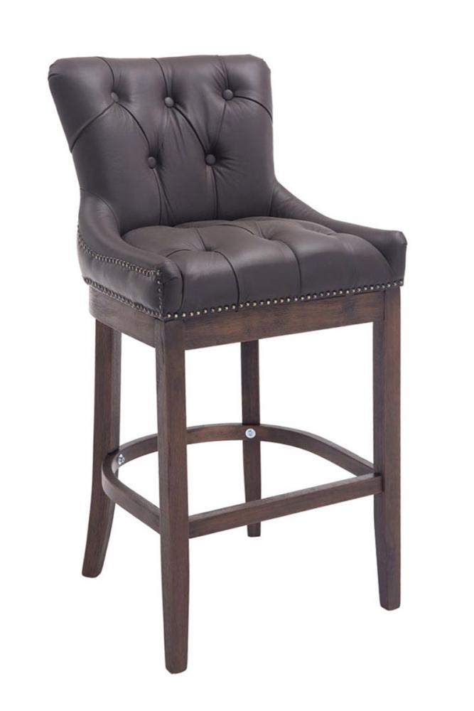 Barová židle Lake, hnědá