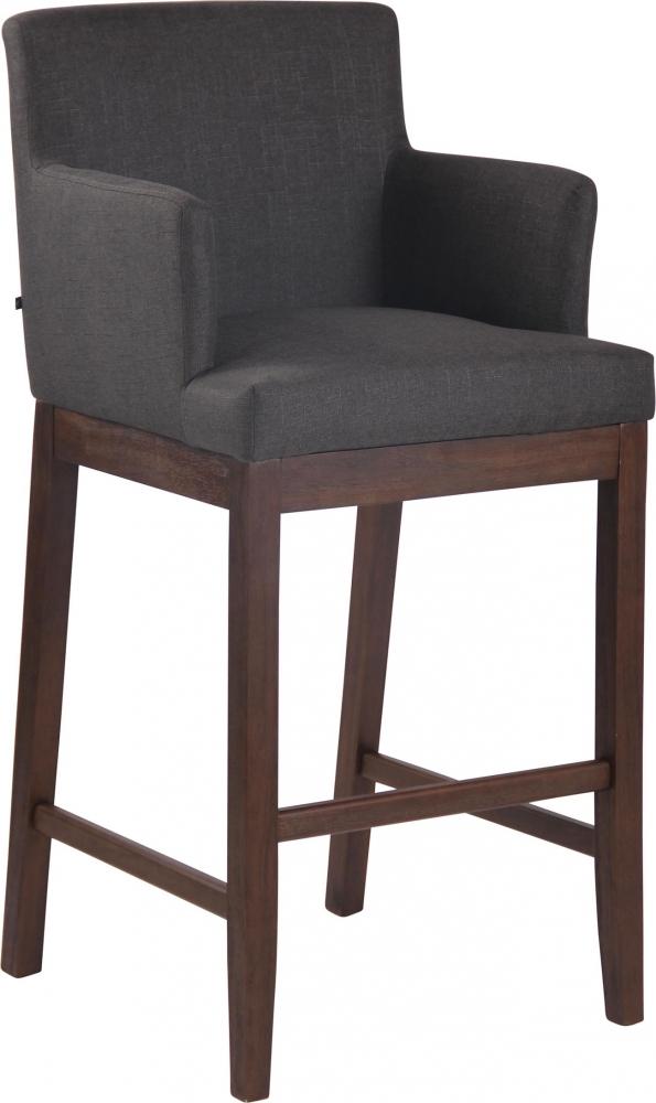 Barová židle Lara, tmavě šedá