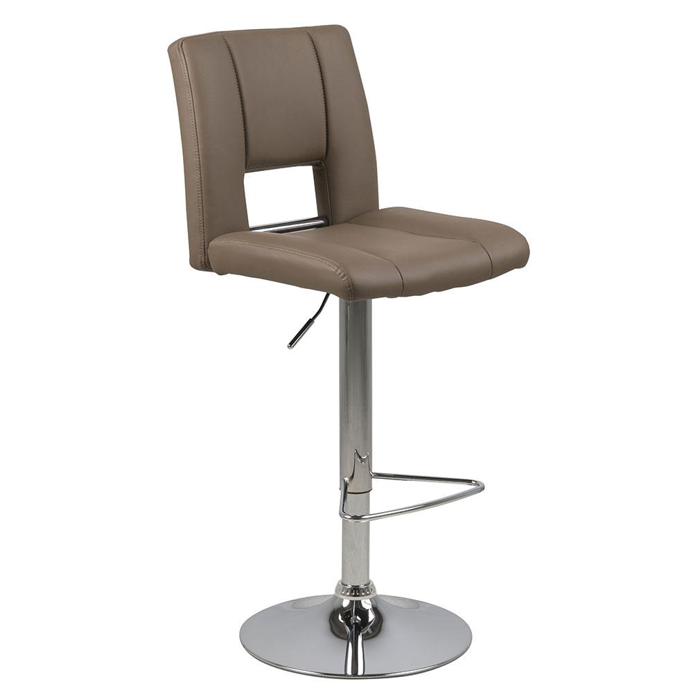 Barová židle Larry (SET 2 ks), cappucino