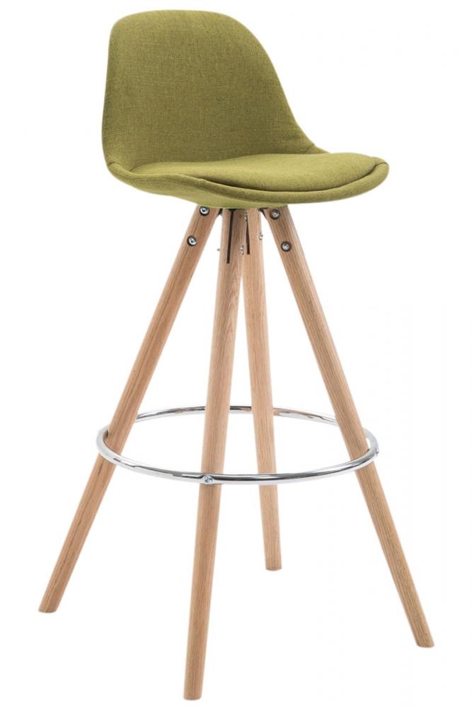 Barová židle Lauren, světle zelená