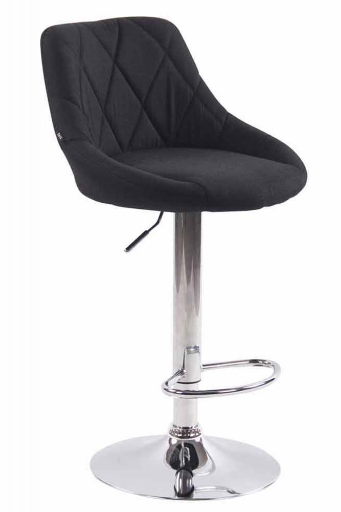 Barová židle Lazo, černá