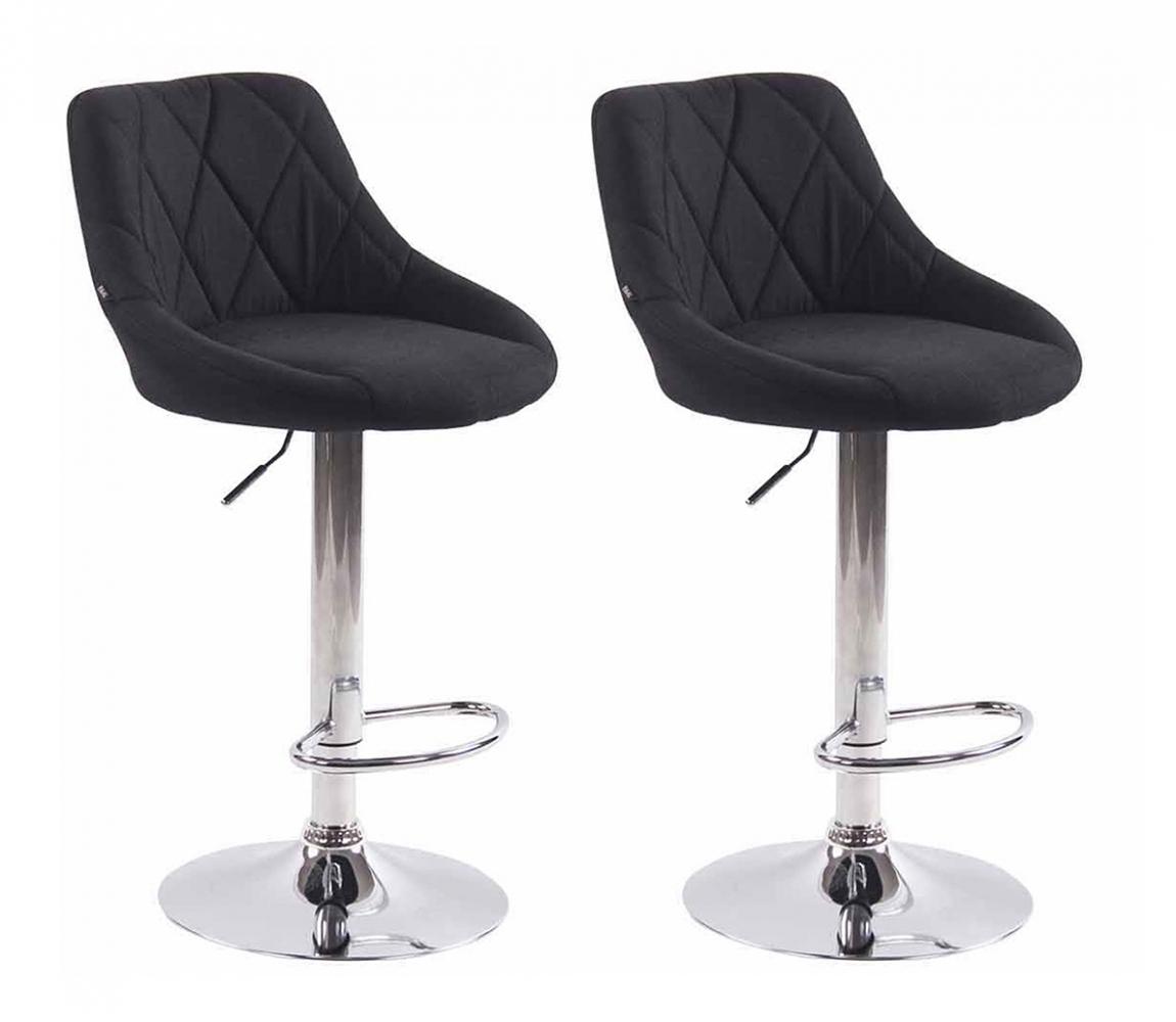 Barová židle Lazo II. (SET 2 ks), černá