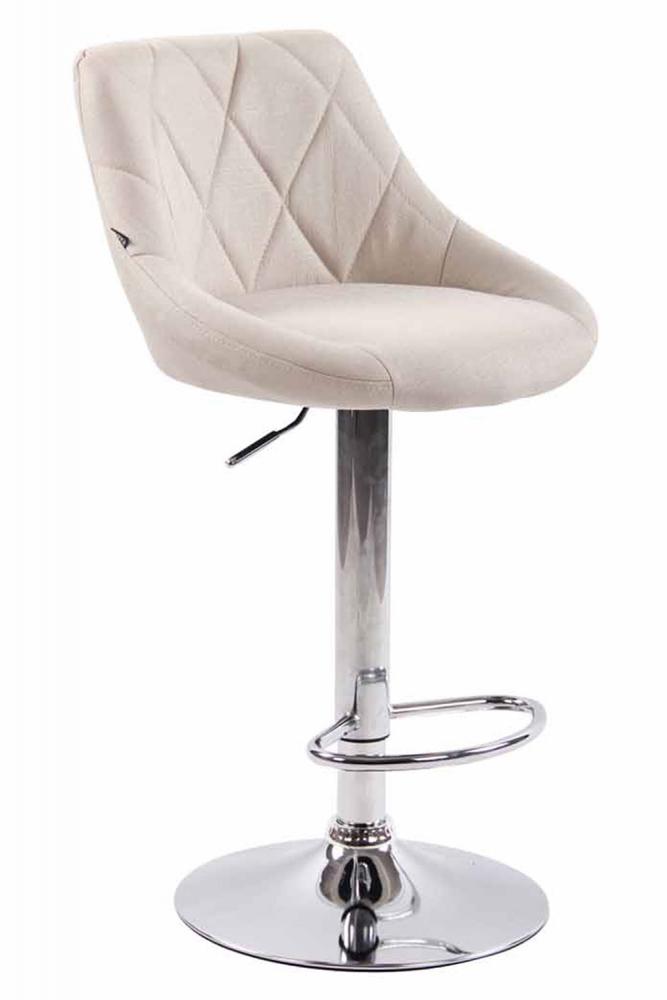 Barová židle Lazo, krémová