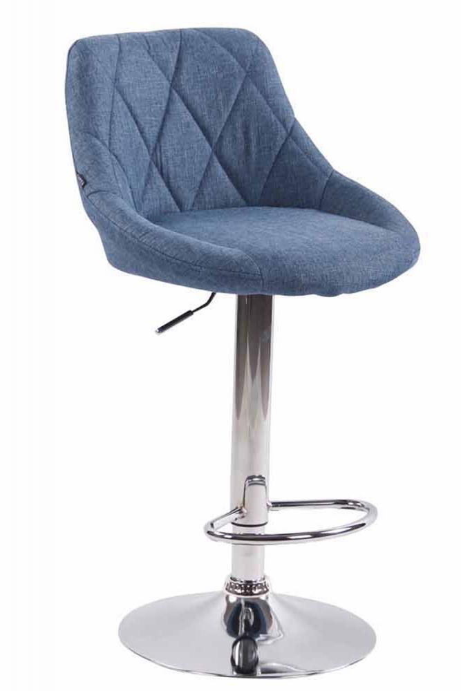 Barová židle Lazo, modrá