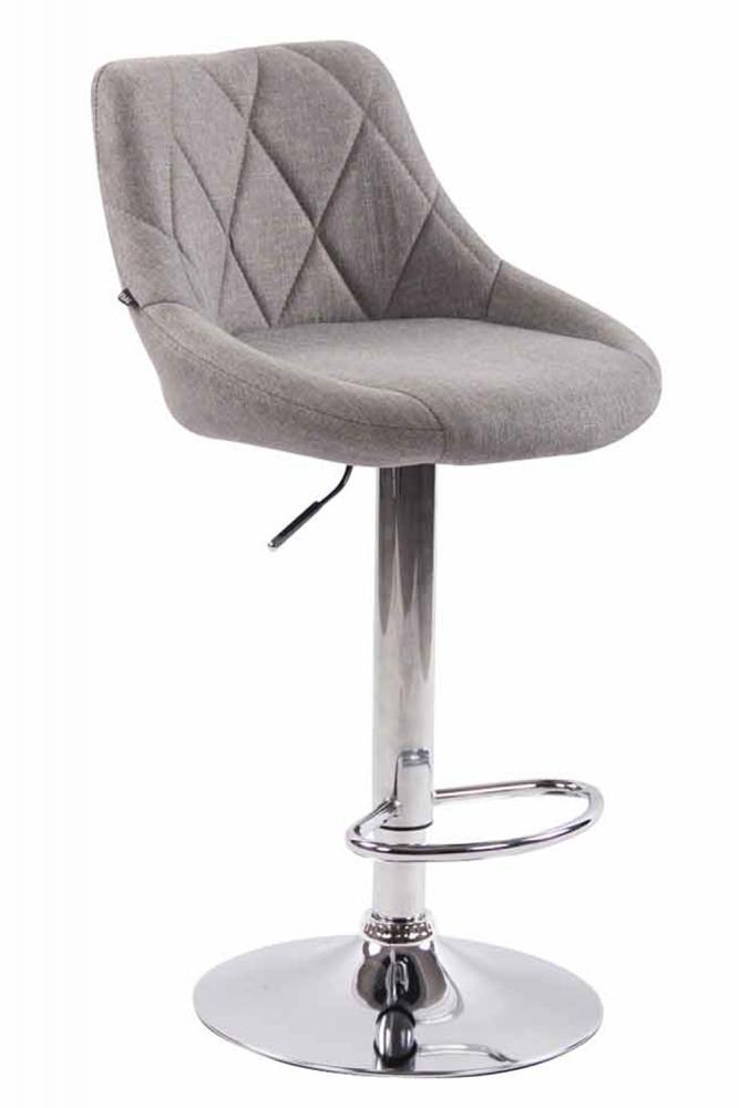 Barová židle Lazo, šedá