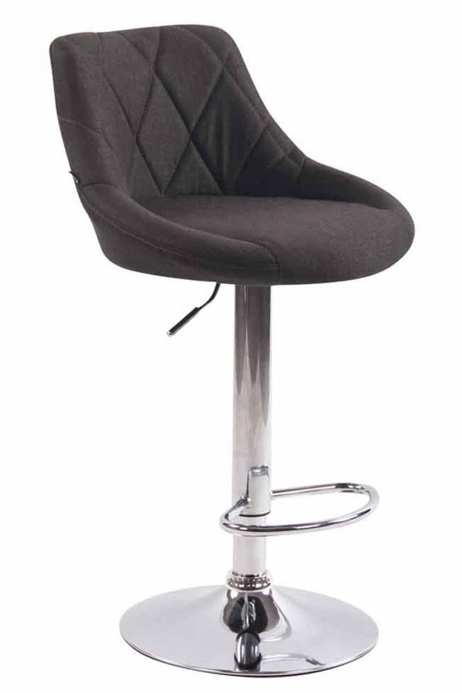 Barová židle Lazo, tmavě šedá