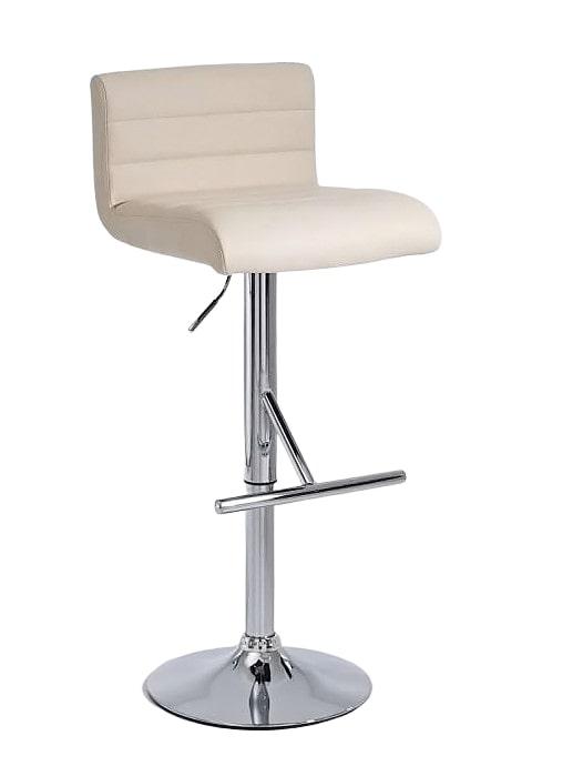 Barová židle Leonidas (SET 2 ks) krémová