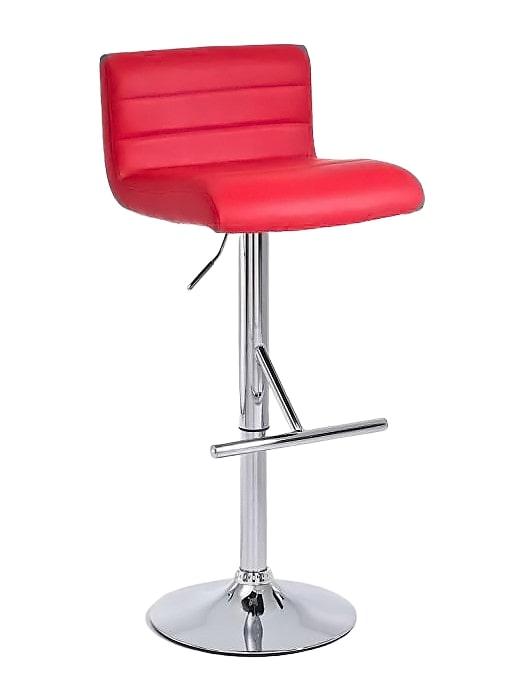 Barová židle Leonidas (SET 2 ks) červená