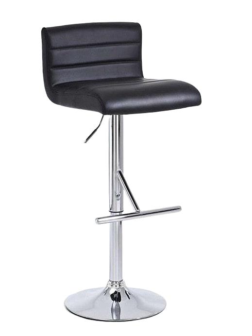 Barová židle Leonidas (SET 2 ks) černá