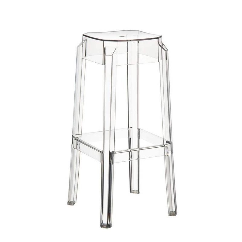 Barová židle Logre transparentní