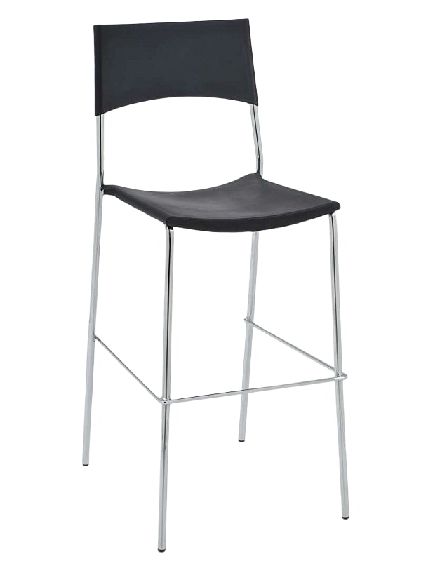 Barová židle Manila (SET 2 ks) bílá