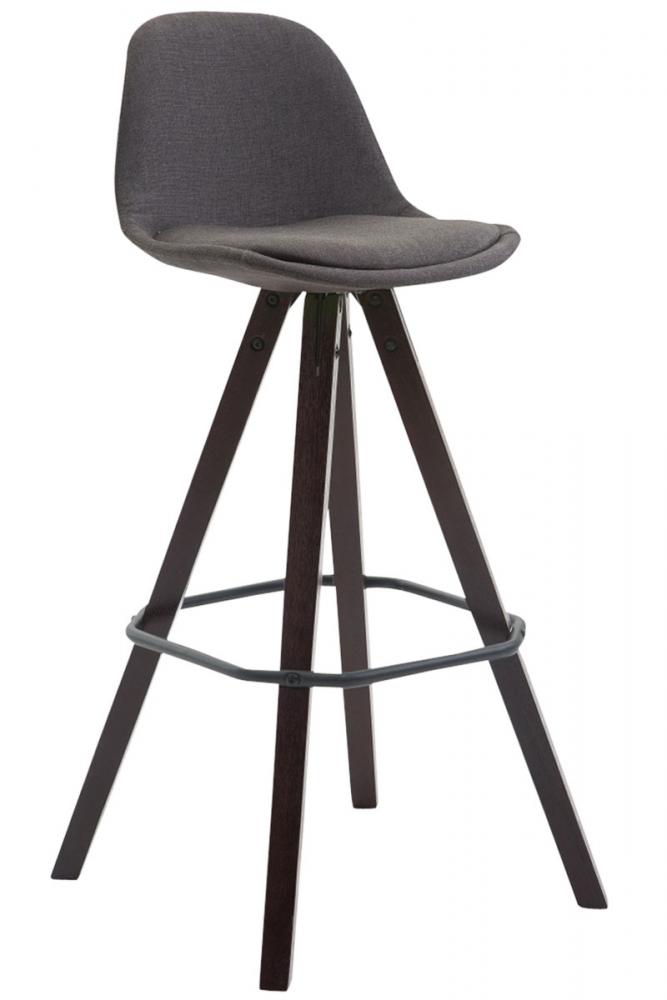 Barová židle Mark, tmavě šedá