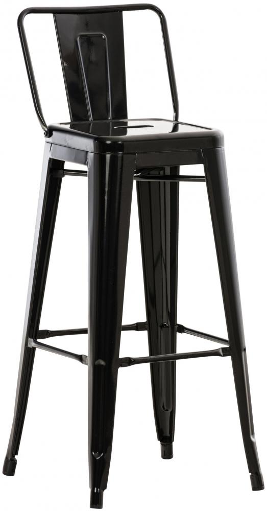 Barová židle Mason, černá