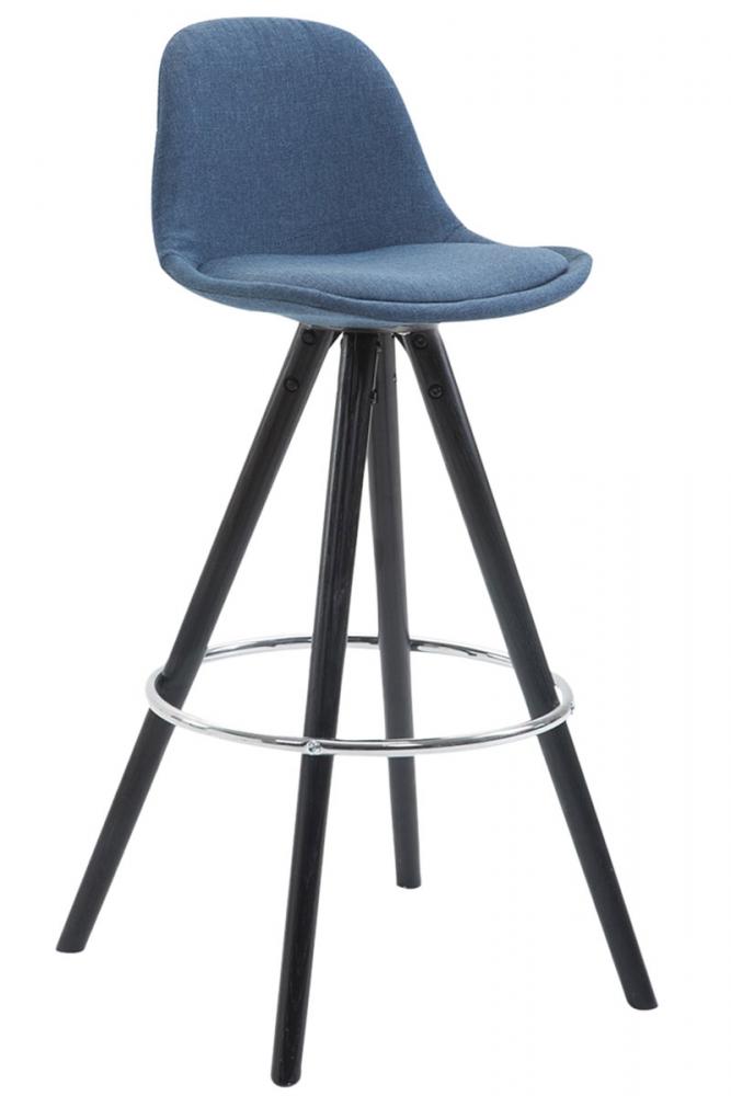 Barová židle Merc., modrá