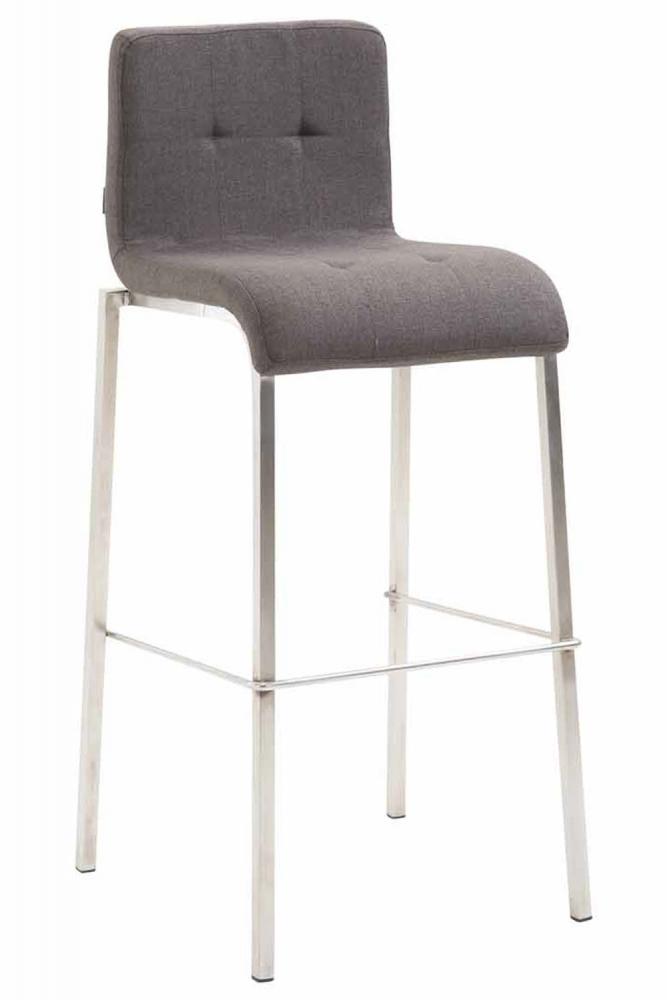 Barová židle Miluan, tmavě šedá