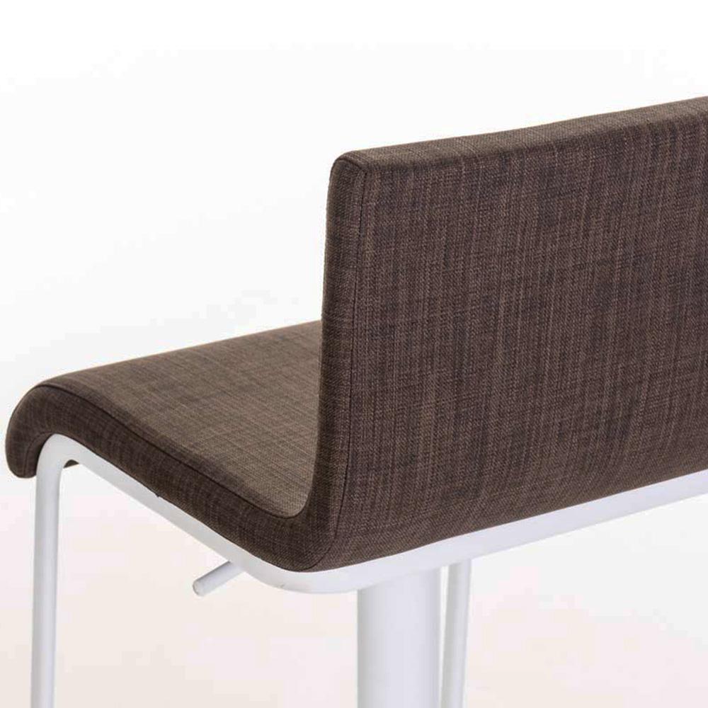 Barová židle Mona, bílá podnož