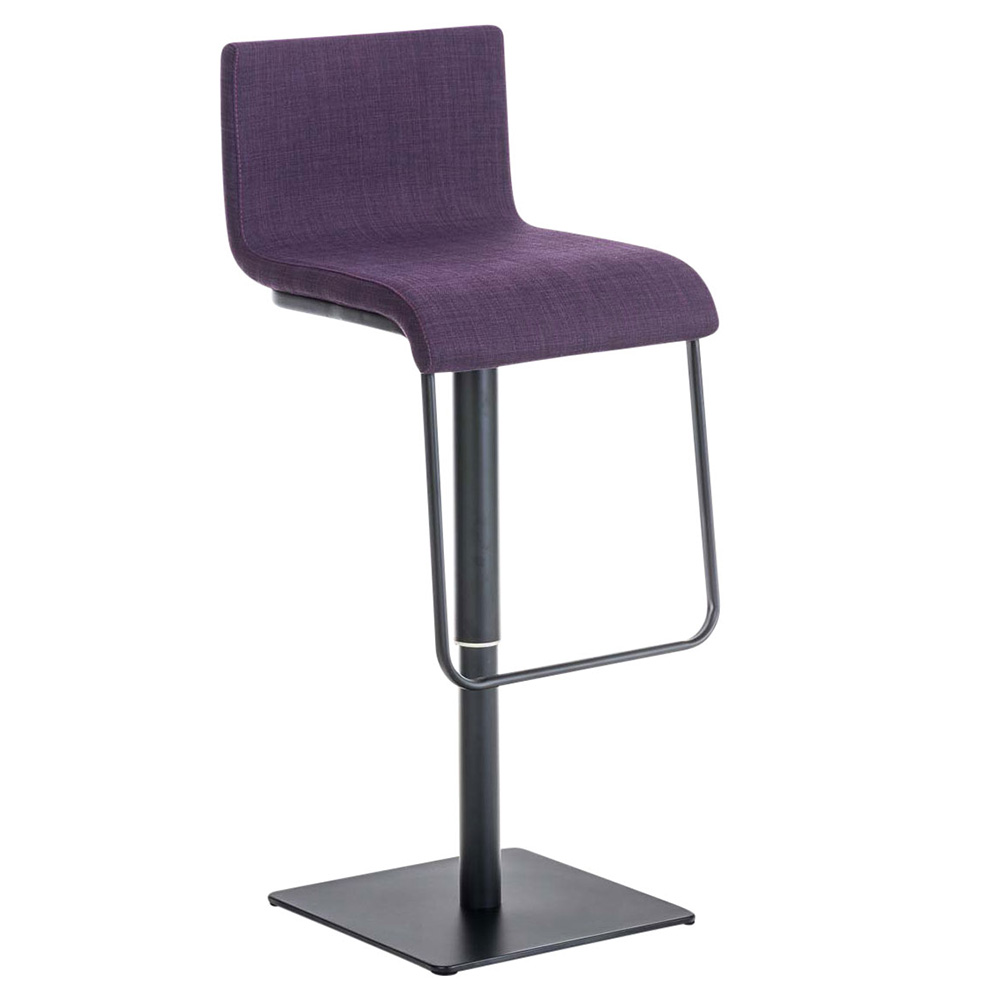 Barová židle Mona, černá podnož