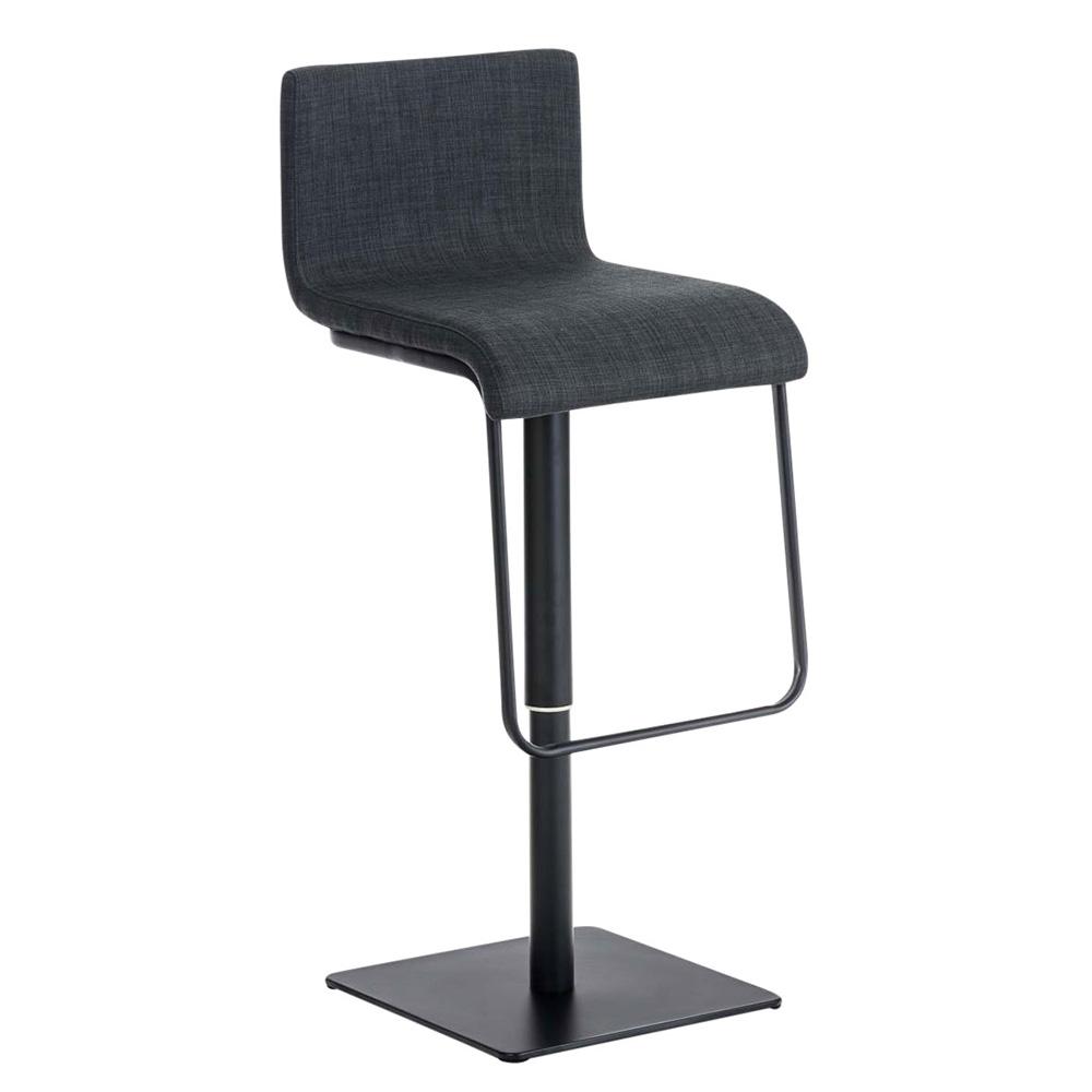 Barová židle Mona, černá podnož fialová
