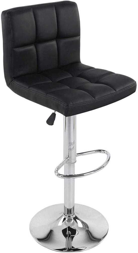 Barová židle Nick (SET 2 ks), černá