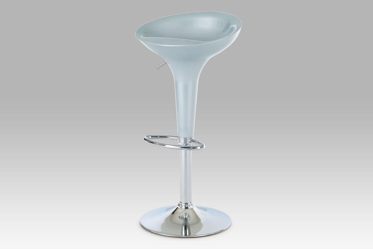 Barová židle Patty, stříbrná