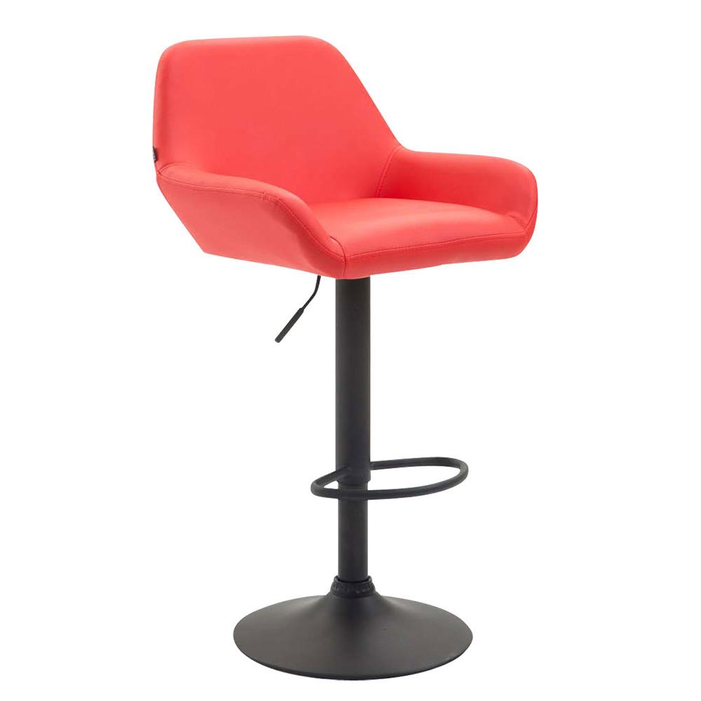 Barová židle Praga kůže černá
