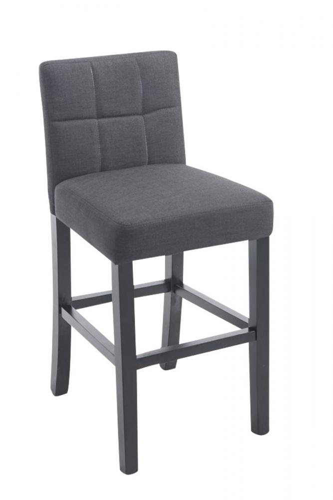 Barová židle Ralf, tmavě šedá