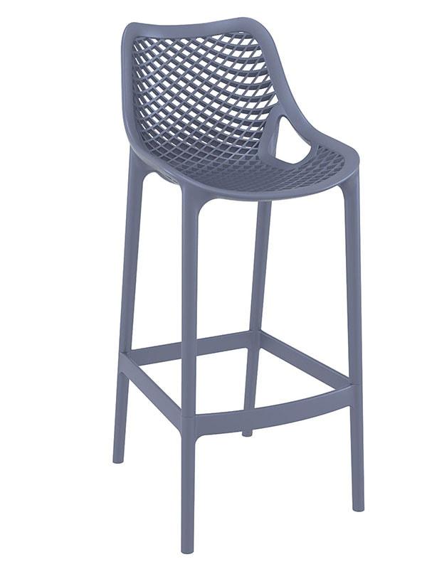 Barová židle Rio outdoor (SET 2 ks) černá