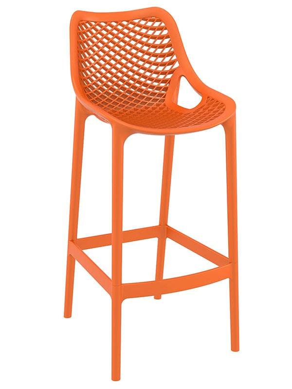 Barová židle Rio outdoor (SET 2 ks) šedá