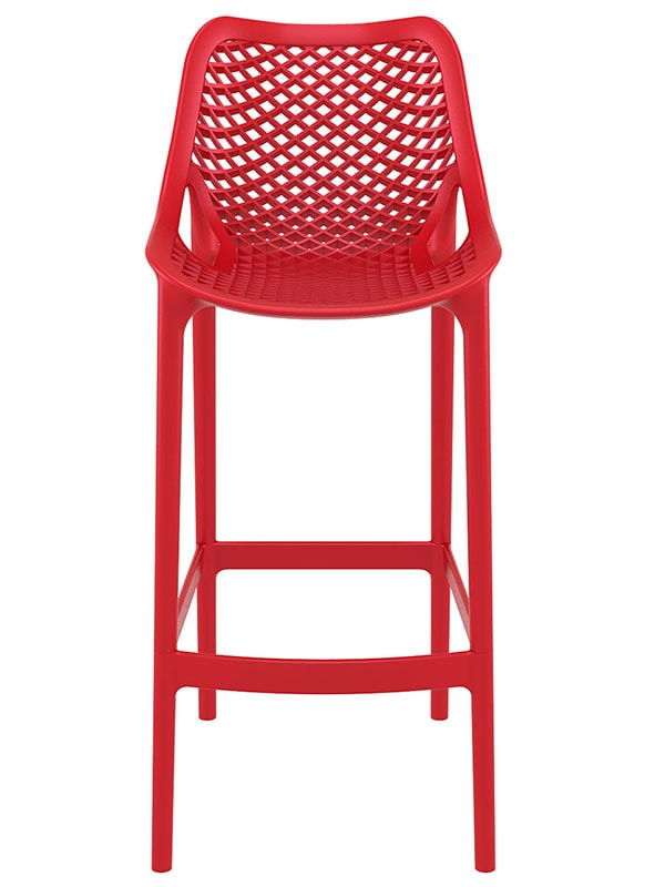 Barová židle Rio outdoor (SET 2 ks) bílá