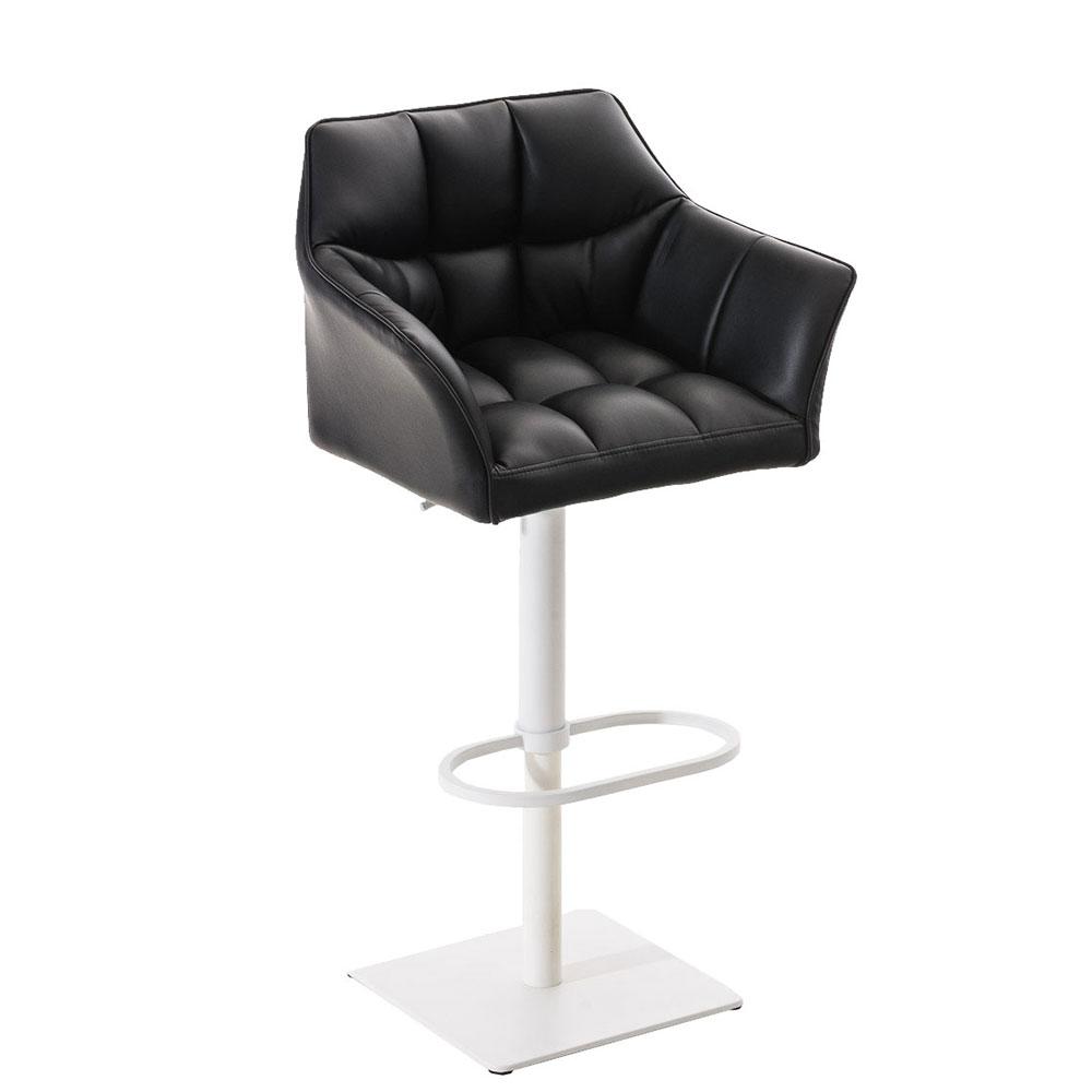 Barová židle s bílou podnoží Sofi