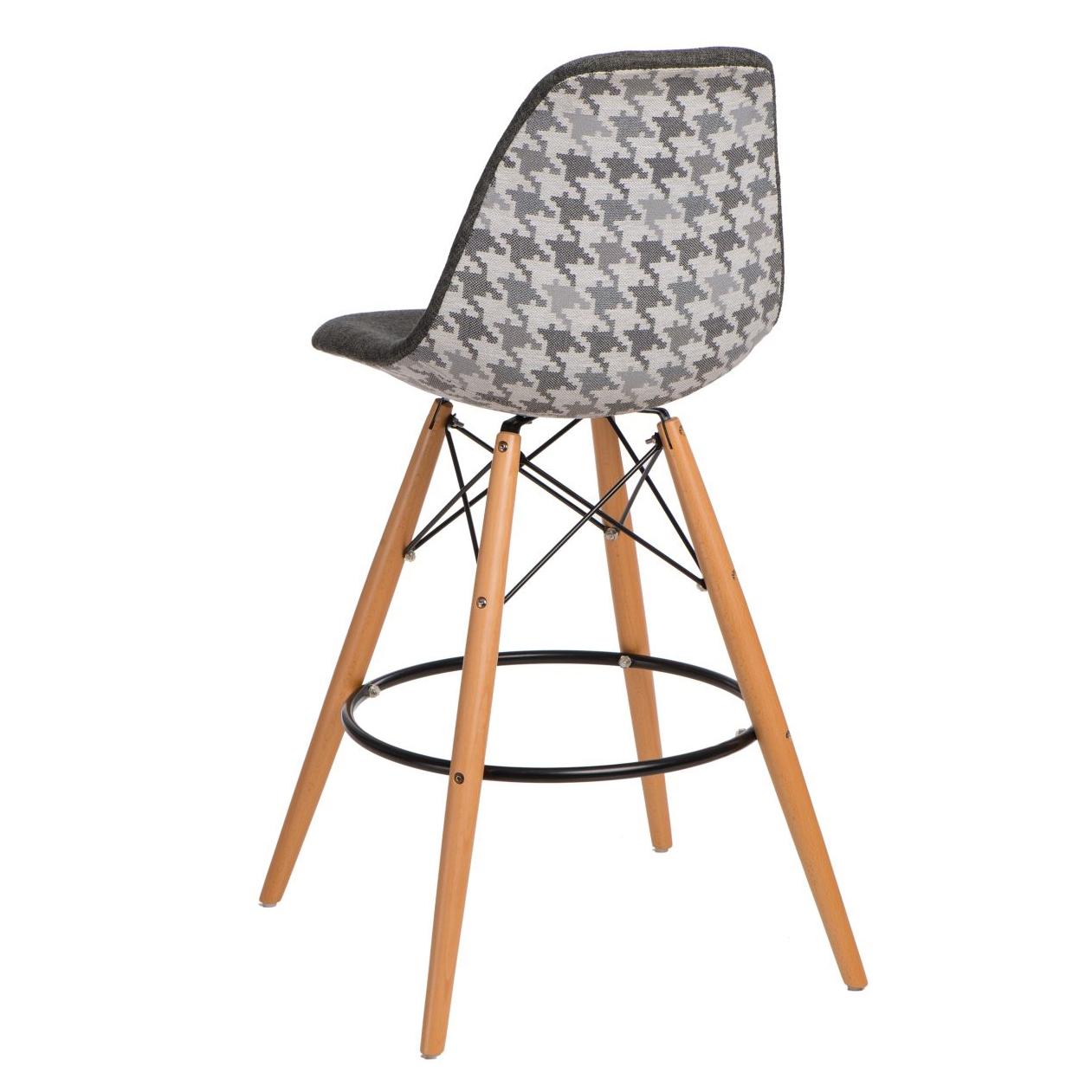 Barová židle s dřevěnou podnoží Desire pepito