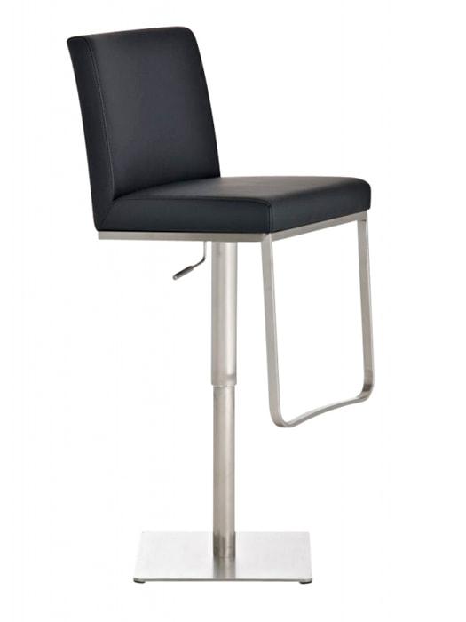 Barová židle s nerezovou podnoží Cargo