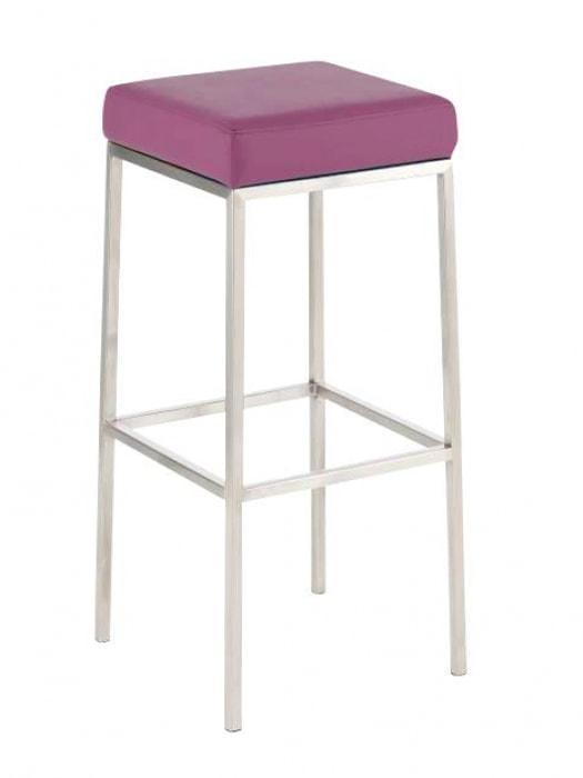 Barová židle s nerezovou podnoží Frankie