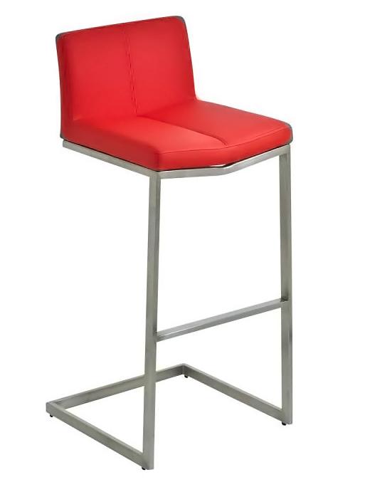 Barová židle s nerezovou podnoží Isle