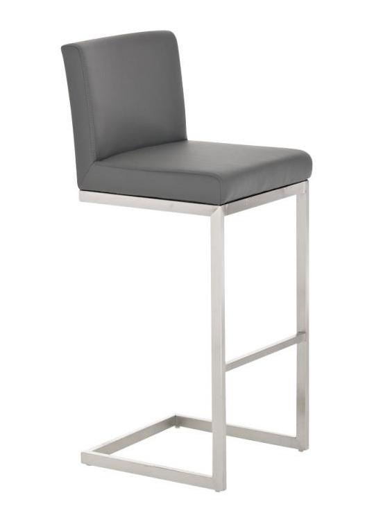 Barová židle s nerezovou podnoží Pride