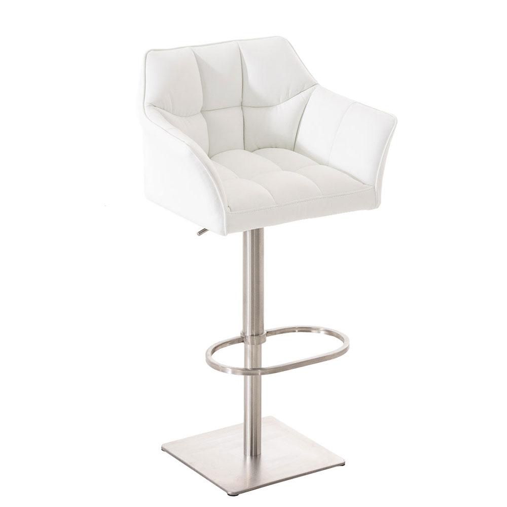 Barová židle s nerezovou podnoží Sofi