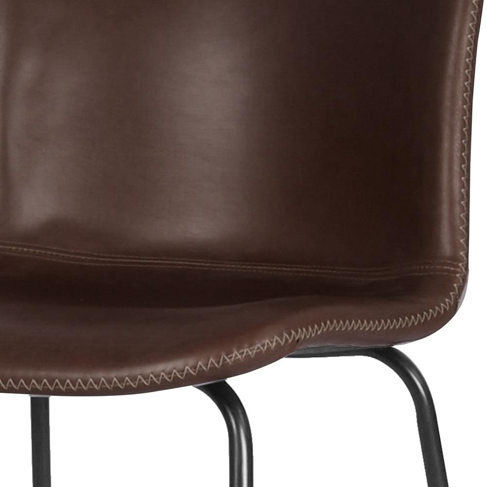 Barová židle Serena (SET 2 ks), vintage hnědá